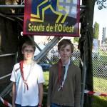 Festimixx 2012, stand des scouts de l'Ouest