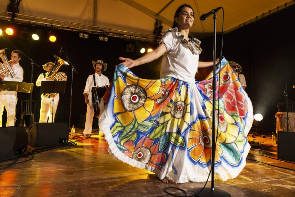 Festimixx 2015 : concert de Palenke La Papayera