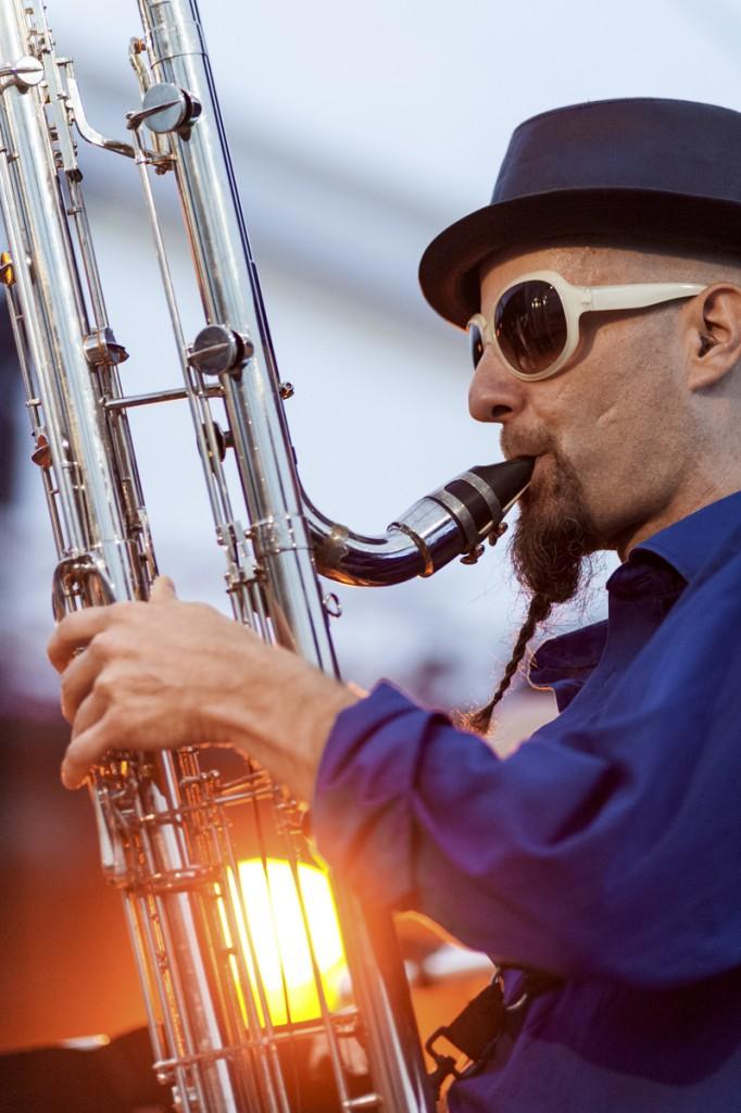 Festimixx 2015 : créarion musicale de Lucien Dubuis.